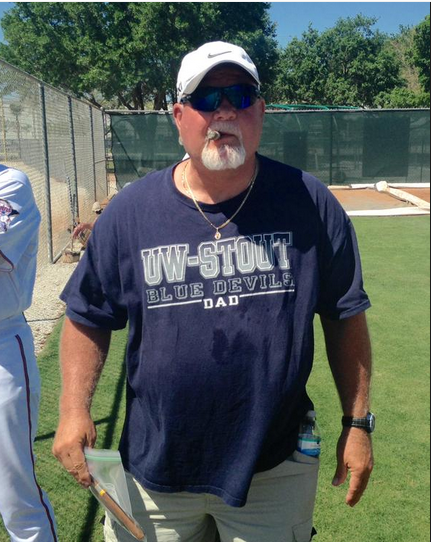 Cigar and all, Ron Gardenhire made his return to the Twins organization today...as a visitor (Star Tribune Sports)